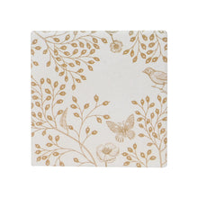Load image into Gallery viewer, Light Floral Ceramic Coaster - Vida Style