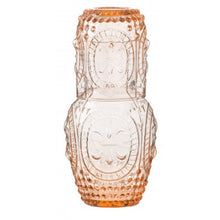 Load image into Gallery viewer, Amber Carafe and Glass Set - Vida Style