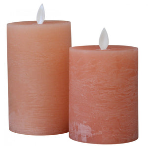 Peach Flameless Candle - Small - Vida Style