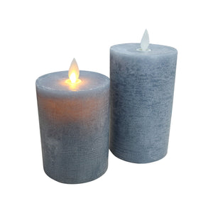 Ash Flameless Candle - Small - Vida Style