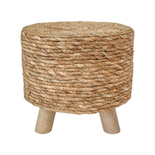 Load image into Gallery viewer, Earthy Woven Stool - Vida Style