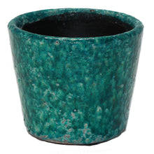 Load image into Gallery viewer, Teal Ceramic Pot - Vida Style