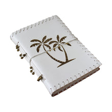 Load image into Gallery viewer, Luxe Gold Palms Leather Notebook - Vida Style