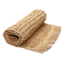 Load image into Gallery viewer, Earthy Fringed Table Runner - Vida Style