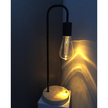 Load image into Gallery viewer, Black Cable Free Table Lamp - Vida Style