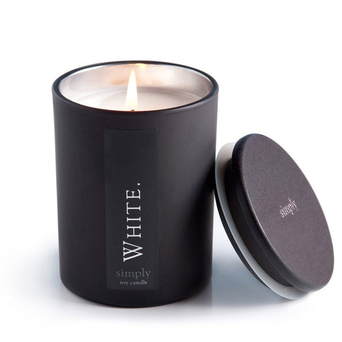 White Scented Soy Candle - Vida Style