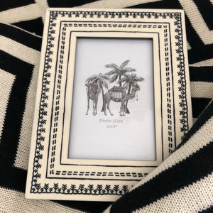 Monochrome Tribal Frame - 6x4