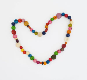 Kids Eco-Necklace Multicoloured