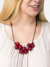 Load image into Gallery viewer, Handmade Tagua Nut Bolota Adjustable Necklace