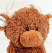 Load image into Gallery viewer, SMALL HIGHLAND COO CUDDLY TOY