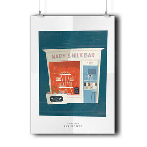 In Store Purchase- Alex Harwood - Mary's Milk Bar