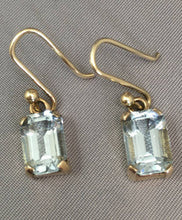 Load image into Gallery viewer, Aquamarine Earrings