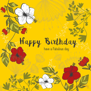 HAPPY BIRTHDAY - have a Fabulous day