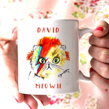 Load image into Gallery viewer, David Meowie Mug