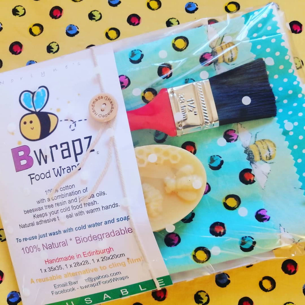 Make Your Own Bwrapz Food Wraps Kits