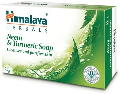 Himalaya herbals Neem and Turmeric Soap 75g