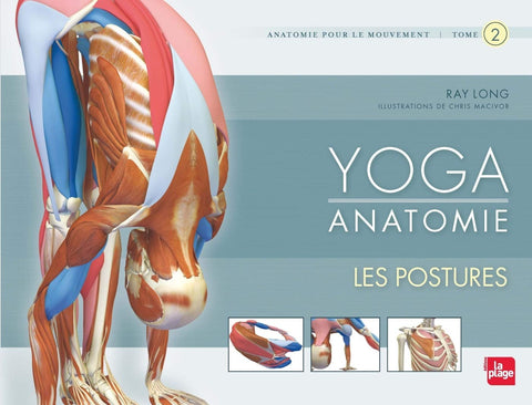 Yoga anantomie : Les Postures (Tome 2)