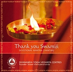 Thank you Swamiji - Devotional mantra chanting - CD