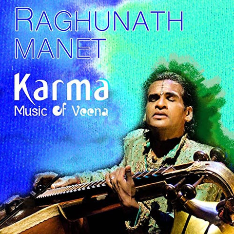 Karma (Music of Veena) de Raghunath Manet - CD