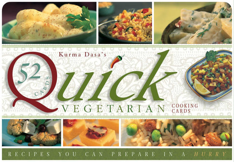Quick vegetarian Cards - recipes you can prepare in a hurry