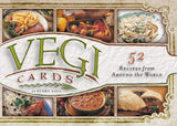Vegi cards - 52 receipes from around the world