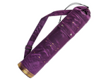 Yoga mat bag Saree style (Plum)