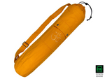 Yoga mat bag with OM (Saffron)