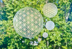 Flower of Life Sticker - Waterproof
