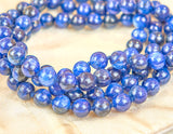 Kyanite mala (perles 8 mm)