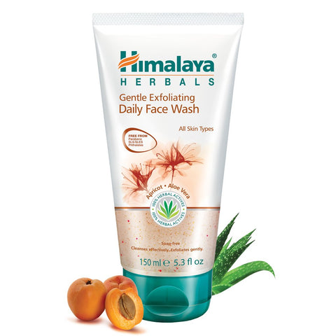 Himalaya Ayurvedic Gentle Exfoliating Daily Face Wash 150ml