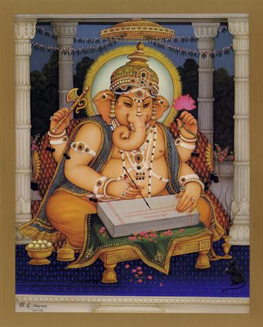 Ganesh, Remover of Obstacles Poster (01S)