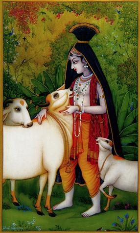 Govinda, Lover of Cows Poster (05S)