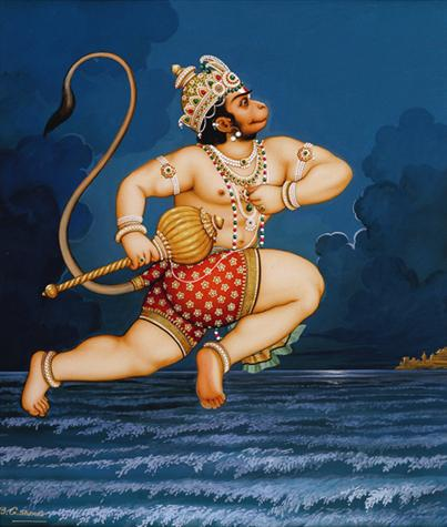 Hanuman Crosses the Ocean Poster (08S)