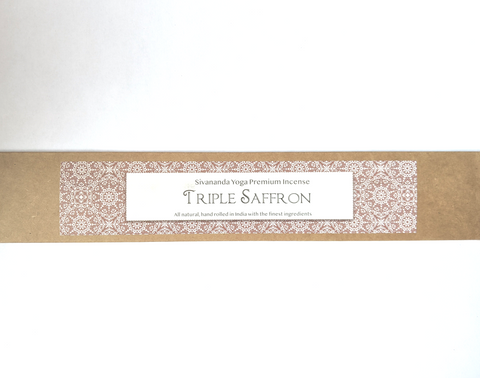 Triple Saffron Premium Incense Sticks