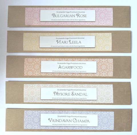 Warm and Loving Scents - Set of Premium Incense Sticks