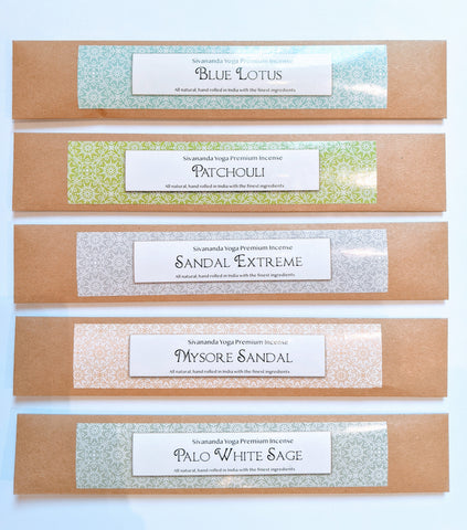 Cool and Earthy Scents - Gift Set of Premium Incense Sticks