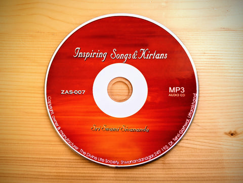 Inspiring Songs and Kirtans - CD