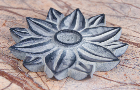 Lotus Blume incense holder