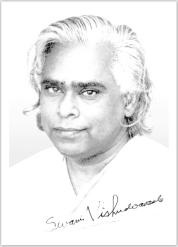 Swami Vishnudevananda photo postcard