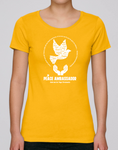 100% Organic Cotton Yellow Women's T-shirt (Peace Ambassador)