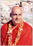 Swami Sivananda in Red Top Extra Thick Postcard