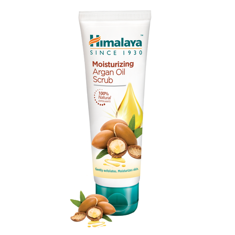 Himalaya Moisturizing Argan Oil Scrub 75ml