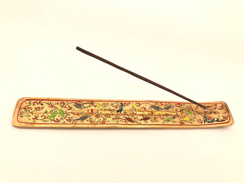 Incense holder Gold Birds