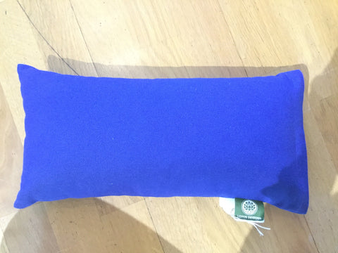 Rectangle Meditation cushion with zip - Blue