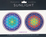Sunlight Sticker - Flower of Life