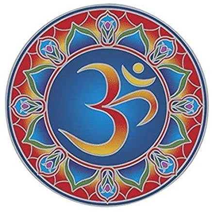 Sunseal Mandala Sticker - Cosmic Ohm (20cm × 15cm)