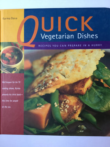 Quick Vegetarian dishes - recipes you can prepare in a hurry