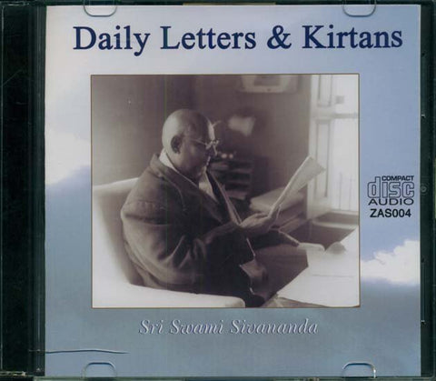 Daily Letters & Kirtans (with Swami Sivananda voice) - CD