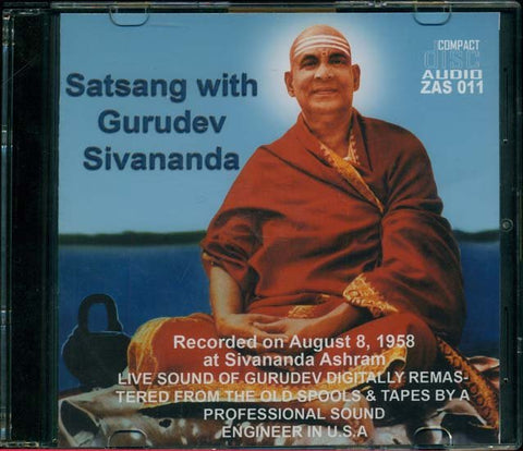 Satsang with Gurudev Sivananda - CD