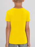 Organic Cotton Yellow Children's T-shirt (Ashram Tree)
